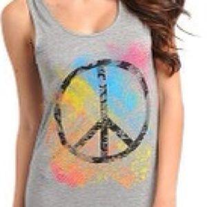 Dresses & Skirts - Gray Peace Maxi Dress